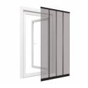 Insektenschutz für Türen, 100x220 cm, schwarz