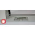 Plastové dveře 90x205 cm (900x2050 mm) bílKunststofftür | 90x205 cm (900x2050 mm) | weiß | Festverglasung| rechtsé
