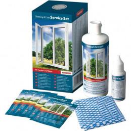 Pflegeset für Kunststoff-Oberflächen BASIC - weiß