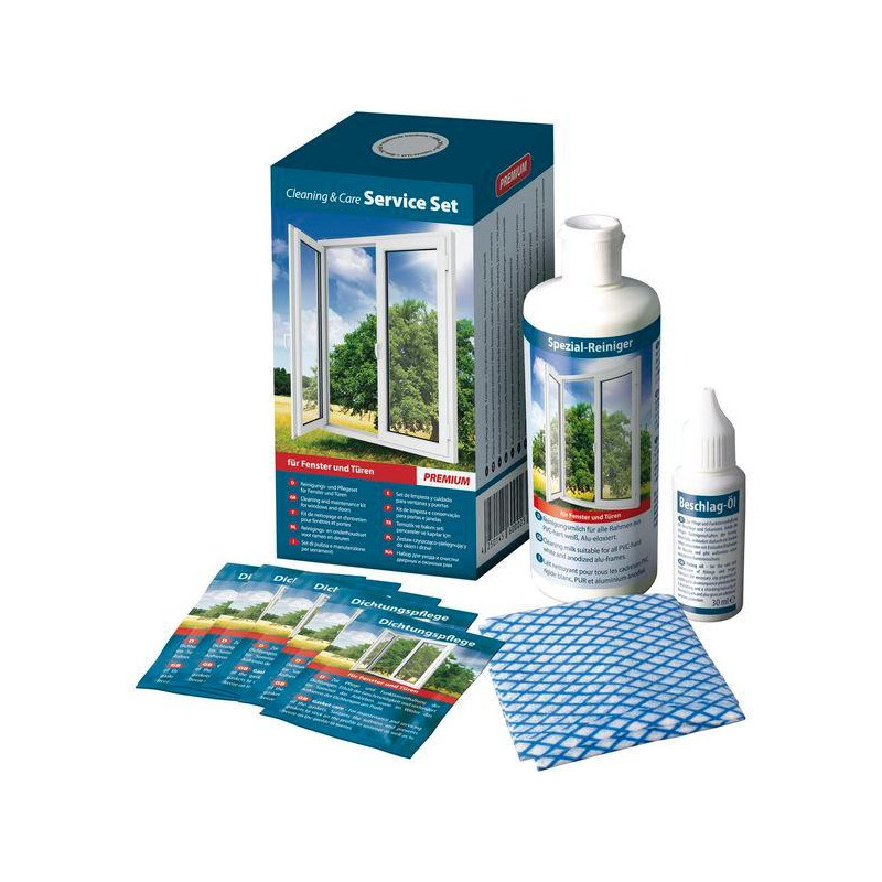 Pflegeset für Kunststoff-Oberflächen COLOR