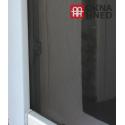 Insektenschutz-Fenster | individuell kürzbar | 100 x 100 cm | schwarz
