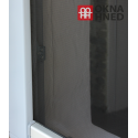 Insektenschutz-Fenster   individuell kürzbar   130 x 150 cm   schwarz
