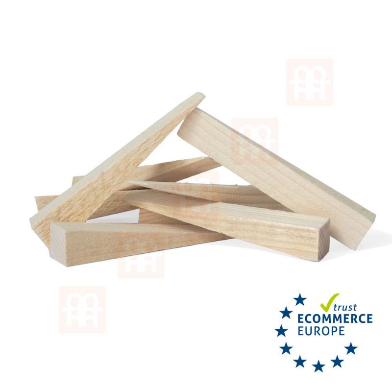 Holzmontagekeile 150x25x25-1mm